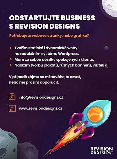 Odstartujte business s Revision Designs